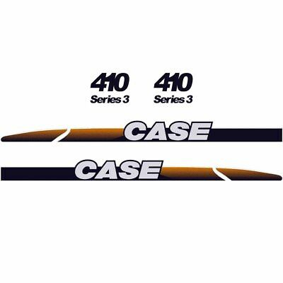 CASE 410 Decals Stickers Skid loader Repro kit