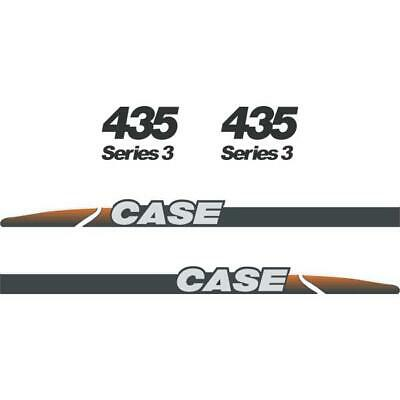 CASE 435 Decals Stickers Skid loader Repro kit
