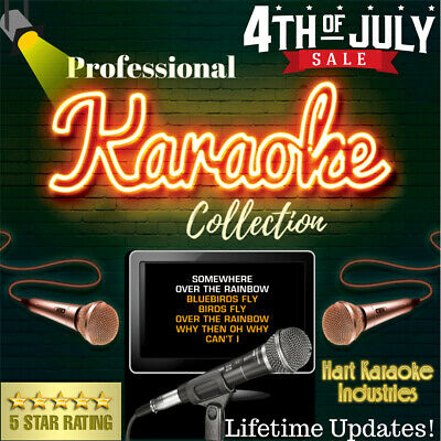 Karaoke Collection Hard Drive - Licensed - Lifetime Updates! 270,000+ Selections