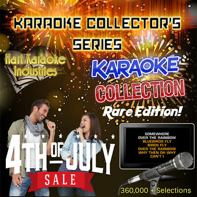 Professional Karaoke Collection  - Lifetime Updates - Studio Quality! - Warranty