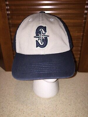 official photos 950a5 2c47b ... promo code seattle mariners mlb navy white 47 forty seven brand fitted  xl hat cap 29fb1