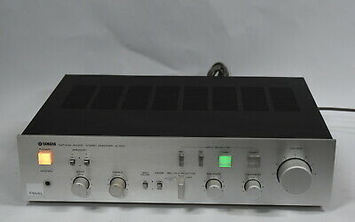 Yamaha A-550 Stereo Integrated Amplifier - Made in Japan
