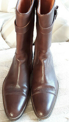 best loved df30a 620e4 Angesagter 38 Boots Style Braun Stiefel Gr Aigle Chelsea ...
