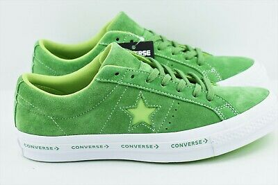 cd340e72666 Converse One Star Pinstripe Ox Mens Multi Size Mint Green Lime 159816C