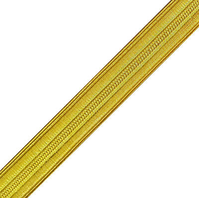 Military Uniform Braid Pilot Army Navy Vestment Chasuble Trim Gold 13 Mm 6 Yards