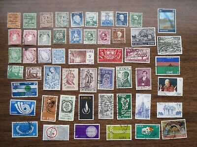50  IRELAND  early issue STAMPS