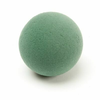 "9cm OASIS IDEAL FOAM SPHERE 4"" Wet Floral Ball Flower Florist Wedding Events"