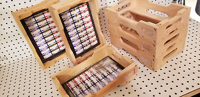 Comic Book Storage 6 Wooden Tray/Crates
