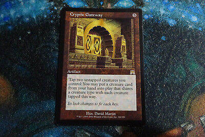 MTG ONSLAUGHT Excellent foil Condition Cryptic Gateway