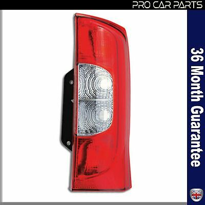 CITROEN NEMO FIAT QUBO FIORINO PEUGEOT BIPPER RIGHT REAR LAMP LIGHT 2 DOOR