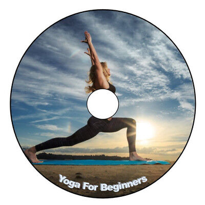 Learn Yoga For Beginners Dvd Fitness Well Being Stress Releif L