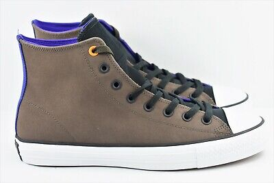 89cef93e738 Converse CTAS Pro Leather Hi Mens Size 10.5 Shoes Dark Chocolate 153492c  Rare