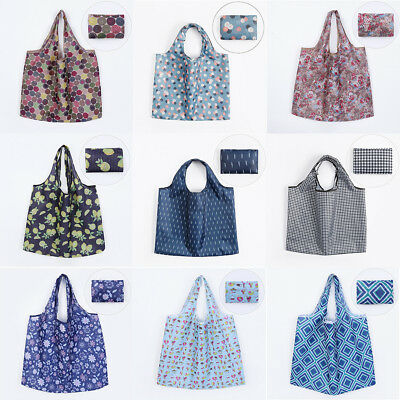 Shopping Travel Shoulder Bags Folding Eco Grocery Handbag Tote Pouch Bags NEW