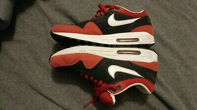 7636f0d2cd15 NIKE AIR MAX Tr 1 + Low 360 Black Varsity Red Mens Sz 11  409717-016 ...