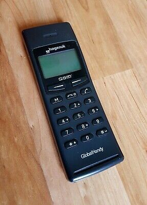 Hagenuk Global Handy Vintage Brick Phone From 1997 Made In Germany Knochen Handy Cell Phones & Accessories