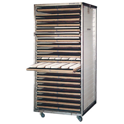 BAKERY RACK CABINET + 20 AUTOMATIC LAYERS For breads and baguettes