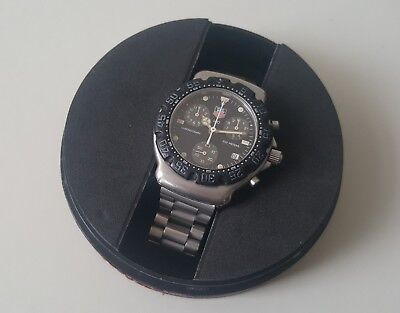Gent's Stainless Steel Tag Heuer Quartz Chronograph Ref# Ca1211-R0 + Boxes