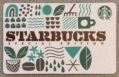 *NEW* 2019 Starbucks Special Edition Gift Card