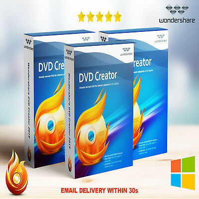 Wondershare DVD Creator 2019🔥🔐Lifetime Activator🔐🔥Instant Delivery (30s)📥