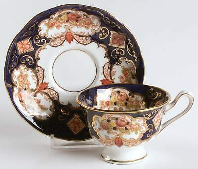 Royal Albert HEIRLOOM (BONE CHINA) Malvern Demitasse Cup & Saucer 6787725
