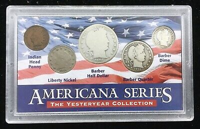 Americana Series – The Yesteryear Collection – 1901-1914 Five Coin Set