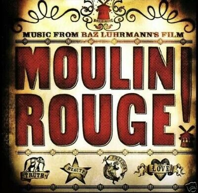 Moulin Rouge Music From The Baz Luhrmann's Film 16 Track Cd - Exc -