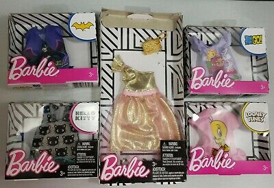 95e394a43 Barbie Doll Sanrio Hello Kitty Fashion Chococat Pack Shirt Outfit Clothes  NIP
