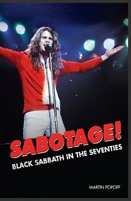 Sabotage! Black Sabbath in the Seventies by Martin Popoff (2018)