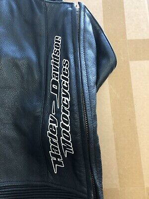 Genuine Harley Leather Chaps- Size Mens X Large - Excellent Condition!!