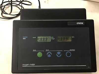 Orion Model 860 Dissolved Oxygen Meter only. No Accessories.