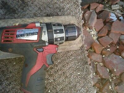 milwaukee   battery 3/8 inch  drill C12PD 12 VOLT COMBI   12v
