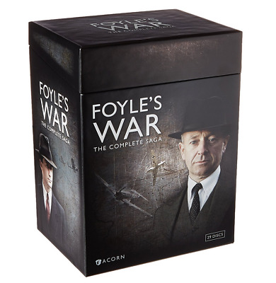 TV Foyle's War The Complete Saga Box Set Seasons/Series 1 - 8