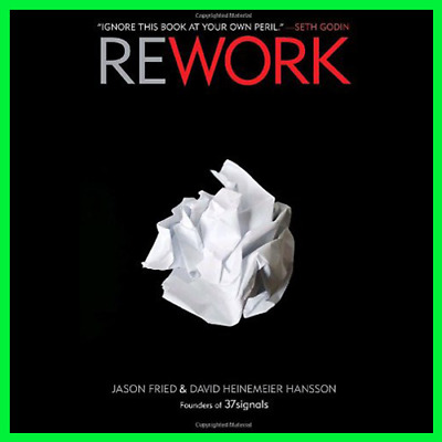Rework by Jason Fried (E-BooK){PDF}⚡Fast Delivery(10s)⚡