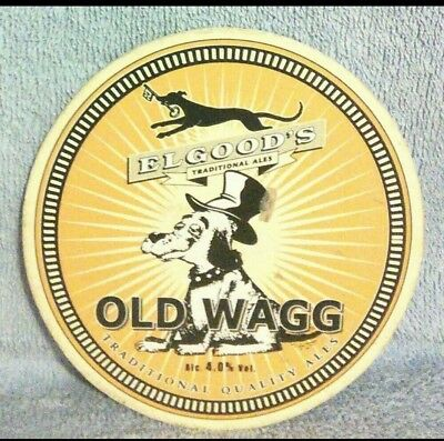 Elgoods Old Wagg pump clip front