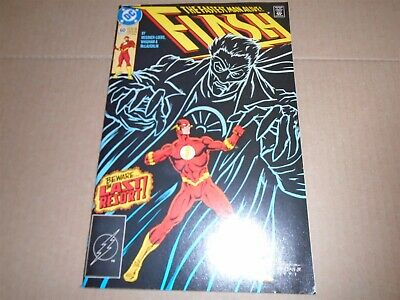 THE FLASH #60 Wally West - DC Comics (2nd Series 1988) VF/NM
