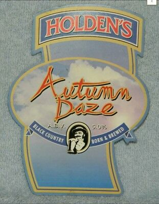 Holden's Autumn Daze pump clip front