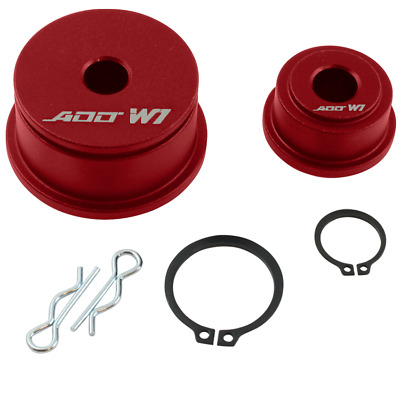 ADD W1 Shifter Cable Bushings for Evolution VII-IX 2001-06 (5Spd) RED