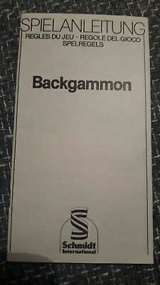 Backgammon Eur 1 00 Picclick De