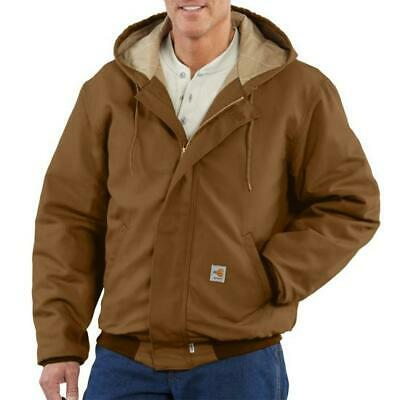 be47370d3e CARHARTT FR BROWN Hooded Jacket Style # 101622 - $199.99 | PicClick