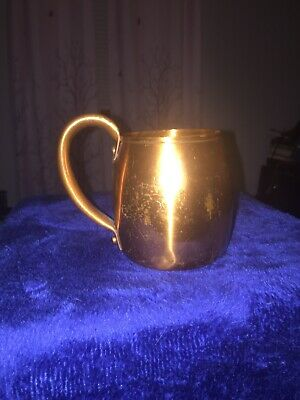 Solid Copper West Bend Aluminum Company Copper Cup WALT