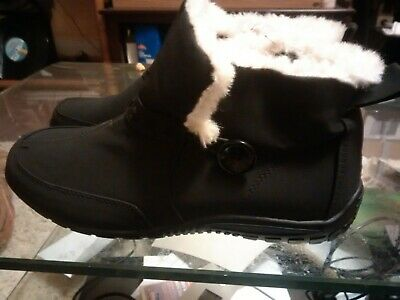8b169ab72a57 NEW WOMEN S SNO Country Stylish Leather Comfortable Black Boot Shoe ...