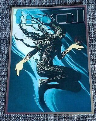 Tool Band - 2018 - 2019 Tour Poster - Promotional Art - Laminated Promo Poster
