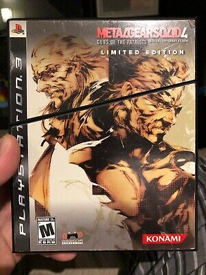 Metal Gear Solid 4: Guns of the Patriots -- Limited Edition (Sony PlayStation 3,