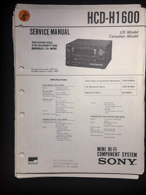 repair manual sony hcd rg20 hcd rg30t mini hifi component system