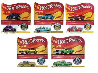 Hot Wheels 1/64 50Th Anniversary Promo Car 1:64 Set Of 5 Diecast Vehicles 2018