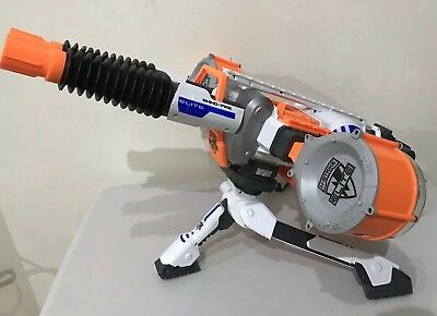 Nerf N-Strike Elite Rhino Fire Automatic Machine Gun + Tripod + Batteries