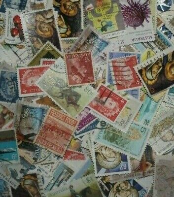 Bulk Lot of Australian Stamps (315+ stamps)