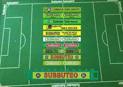 10 x Subbuteo Style Self Adhesive Adverts for C.108 Subbuteo Fencing