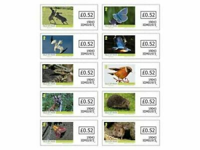 Isle Of Man 2019  Cept Europe  National Birds 1  Stamp Other Animals    Mnh