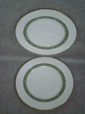"""ROYAL DOULTON RONDELAY 9"""" SMALL DINNER PLATES x 2  - 1st QUALITY - EXCELLENT"""